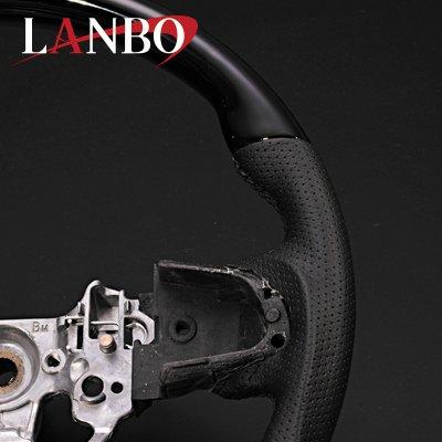 画像1: LANBO オリジナルステアリング ガングリップ [タント LA600/LA610]