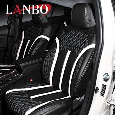 画像1: LANBO レザーシートカバー Type LUXE 【ハリアー MXU80・85】