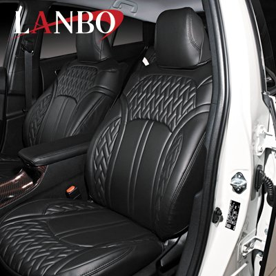 画像3: LANBO レザーシートカバー Type LUXE 【ハリアー MXU80・85】
