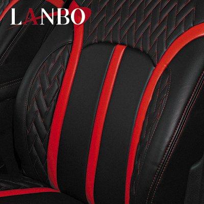 画像2: LANBO レザーシートカバー Type LUXE ヴェルファイア 30系