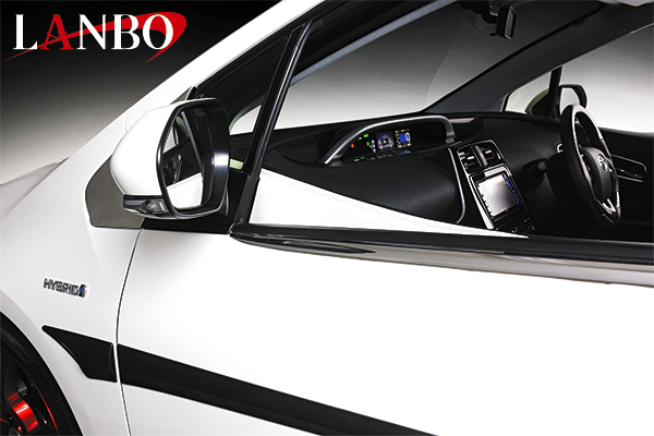 画像1: LANBO ドア ロワーフレームガーニッシュ  プリウス 50系 (1)