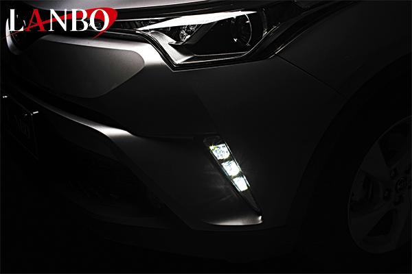 画像1: LANBO LEDデイライトKIT[C-HR ZYX10/NGX50 前期] (1)