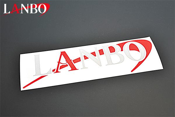 画像1: Web限定 LANBOリフレクティブステッカー (1)